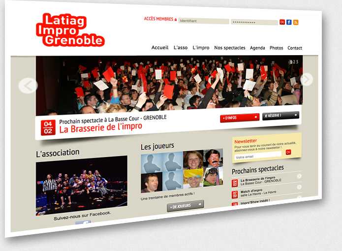 Aperçu du site www.latiag.fr